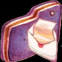 Mail Violet Folder-128