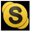 Honeycomb Skype icon
