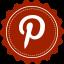 Pinterest Vintage icon