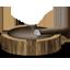 Ash tray and habano icon