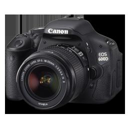 Canon 600D side