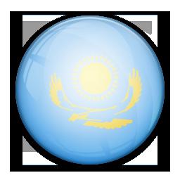 Flag of Kazahstan