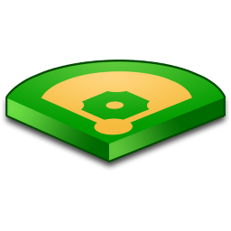 Baseball Field Icon Download Sport Fields Icons Iconspedia