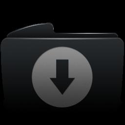 Folder black download