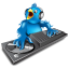 Twitter DJ icon