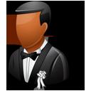 Wedding Bridegroom Dark-128