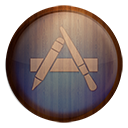 Appstore Wooden-128