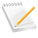Notepad Bloc notes-128