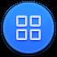 App Drawer Round Icon