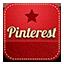 Pinterest retro icon