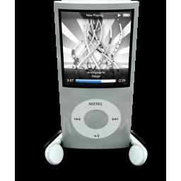 Silver iPod Nano