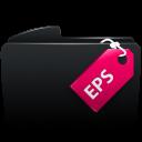 Folder black eps-128