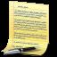 Document Yellow icon