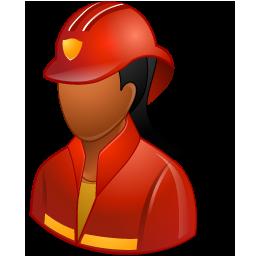 Firefighter Female Dark