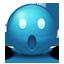 Blue Emoticon icon