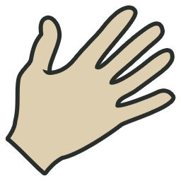 Hand vintage