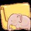 Folder Elephant icon