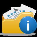 Open folder info-128