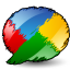 Google Buzz artistic Icon
