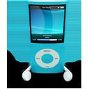 Blue iPod Nano-128