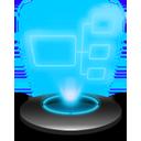 My Network Hologram-128