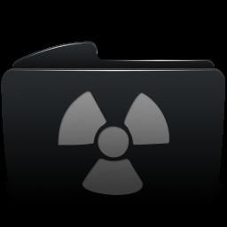 Folder black burnable