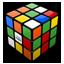 Rubik Cube Mixed Icon