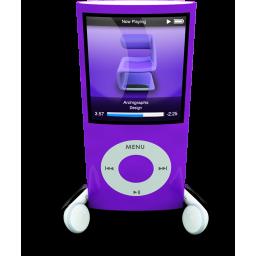 Purple iPod Nano