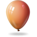 Ballon orange-128