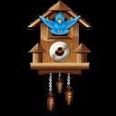 Twitter wall clock-128