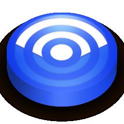 Rss blue circle