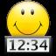 T Clock icon