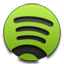 Spotify green icon