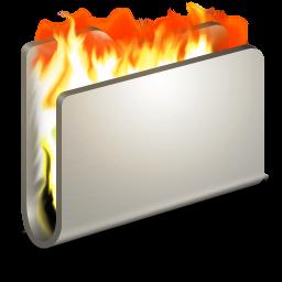 Burn Metal Folder