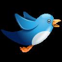 Twitter blue birdie-128