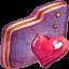 Fav Violet Folder icon