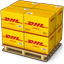 DHL Boxes icon