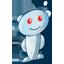 Reddit 3D icon