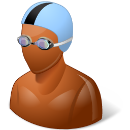 Swimmer Male Dark