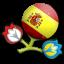 Euro 2012 Spain Icon
