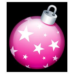 Christmas ball pink