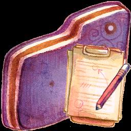 Doc Violet Folder