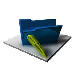 Blue Folder Edit