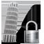 Tower of Pisa Lock icon