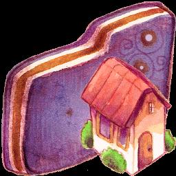 Home Violet Folder