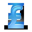 Pound Sterling blue