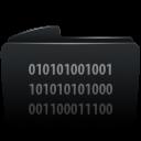 Folder black byte-128