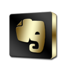 Evernote Black and Gold-128