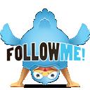 Twitter Head Down-128