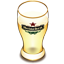 Heineken beer glass-64